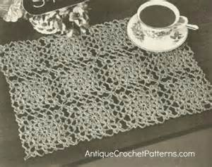 Home Patterns crochet pattern basketweave placemat crochet patterns tutorials