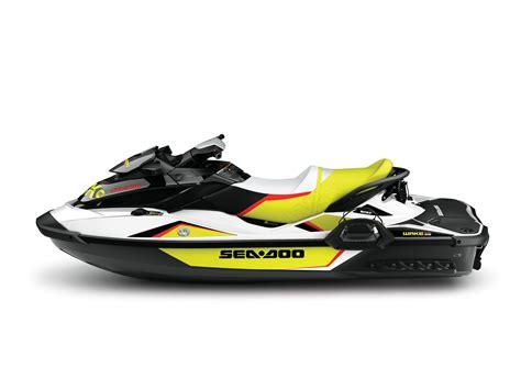 yellow sea doo boat brp s 2014 sea doo wake pro 215 and wake 155 watercraft