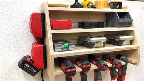 drill charging station  wood whisperer