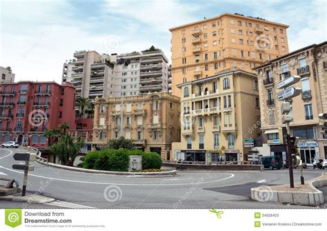 French European House Plans monaco architecture of residential buildings editorial