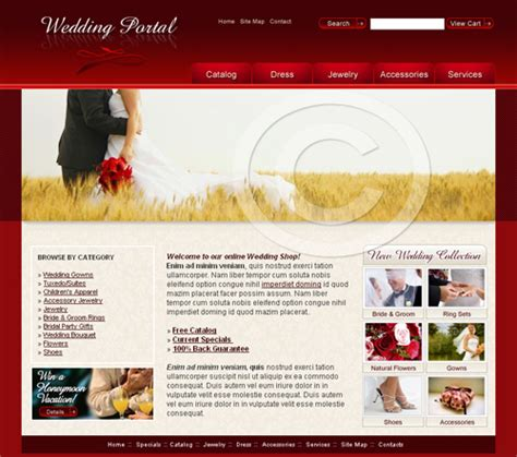 templates for web pages web templates wedding template wedding website design