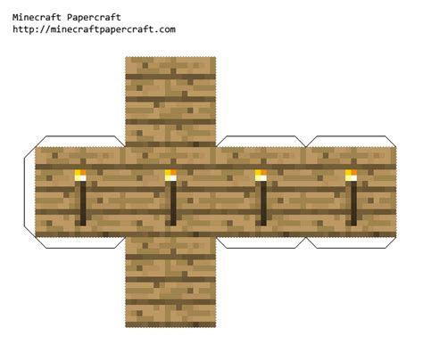 Minecraft Torch Papercraft - minecraft papercraft torch www imgkid the image