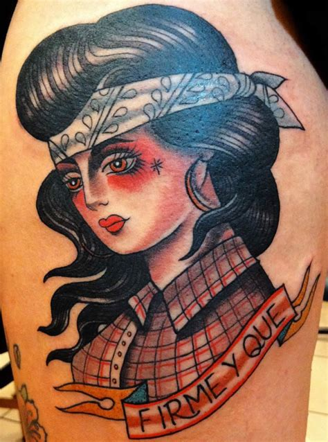 cowgirl pinup tattoos 100 ideas to try about country ink school sailor