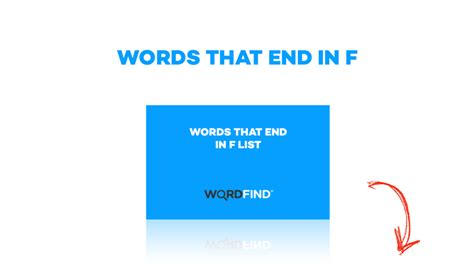 scrabble words that end in f wordfind on gumroad