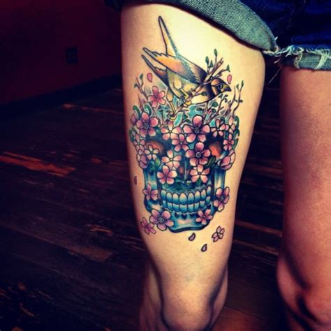 tattoo ideas for girl tumblr more than 50 thigh tattoos with unique modern touch