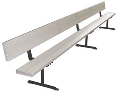 portable team bench first team portable aluminum bench with backrest soccer