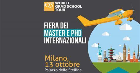 13 ottobre qs world grad school tour giornata dell