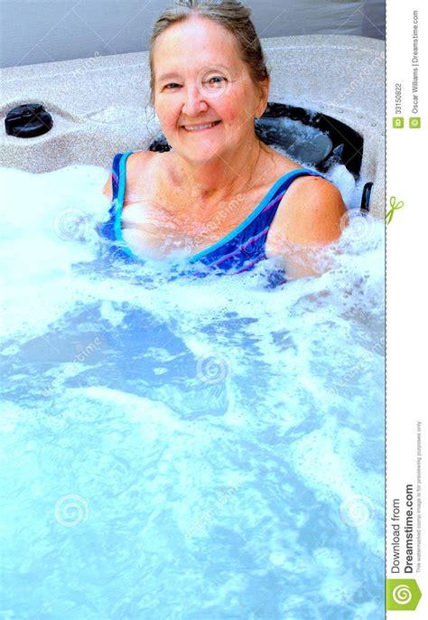 mature bathtub mature female stock photography image 33150822