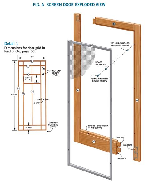 how to build a wood with doors how to make a storm door diy screen door project