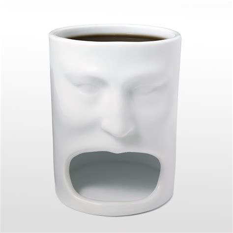 cookie face cool coffee mug best coffee mugs 15 creative coffee and tea mugs bored panda