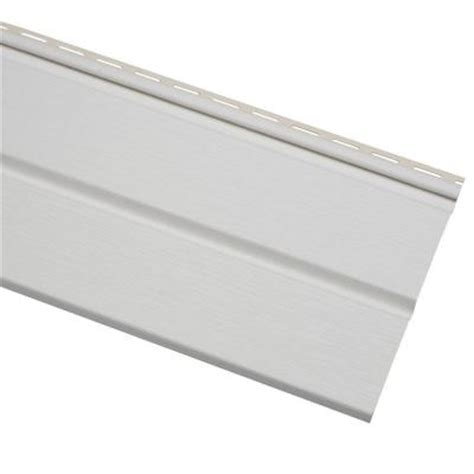 cellwood economy 5 in white solid vinyl soffit