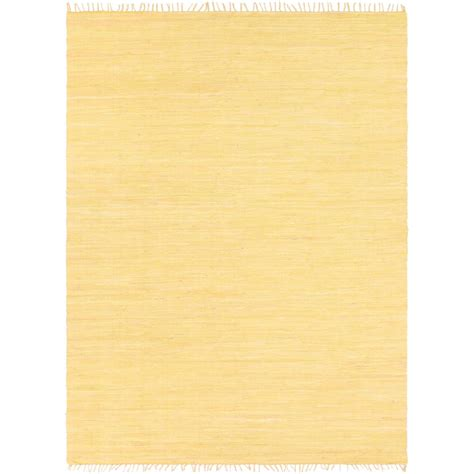 Artistic Weavers Easy Home Delaney Light Yellow 7 Ft 6 In Pale Yellow Area Rug