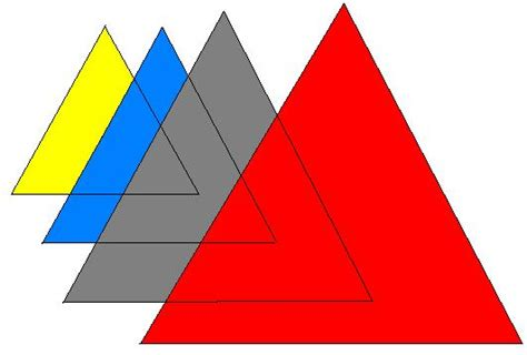 imagenes con figuras geometricas ocultas triangulos