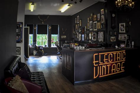 tattoo studio design the studio electric vintage