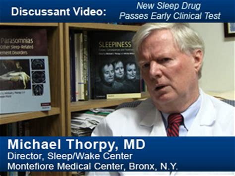 sleep drug passes early clinical test medpage today