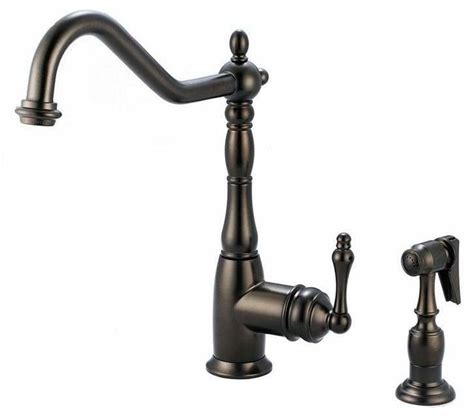 Antique Bronze Kitchen Faucets | artisan premium antique bronze faucet traditional kitchen