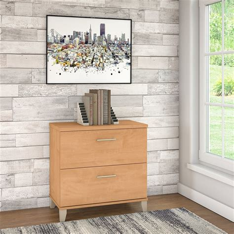 bush somerset lateral file cabinet bush furniture somerset lateral file cabinet in maple