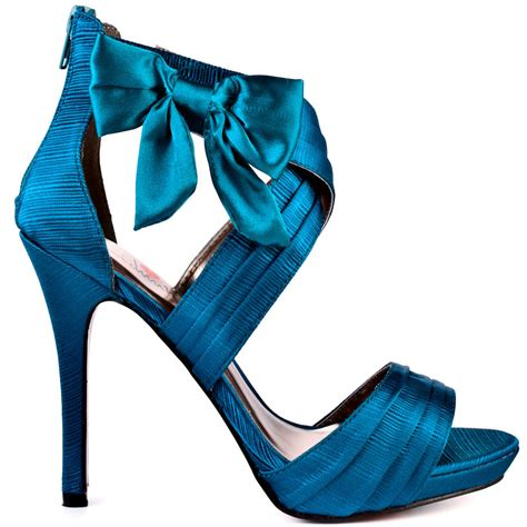 teal high heel sandals luichiny s blue mist teal satin for 89 99 direct