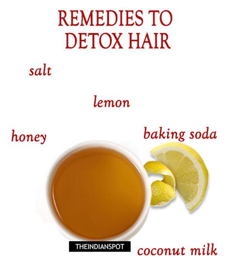 Home Remedies For Detoxing Your From Drugs by Home Remedies To Detox Hair For Beautiful Locks Naturally
