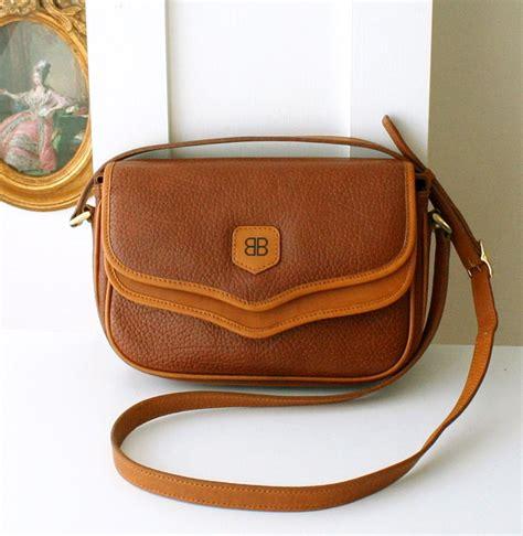 Wwd Top 12 Designer Handbag Brands Of 2007 by Vintage Balenciaga Cow Leather Brown Shoulder Cross