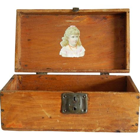 fashion doll trunk 10 quot antique fashion doll trunk from kimsdollgems on