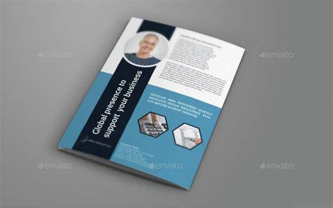 company profile design envato company profile brochure bi fold template vol 42 by
