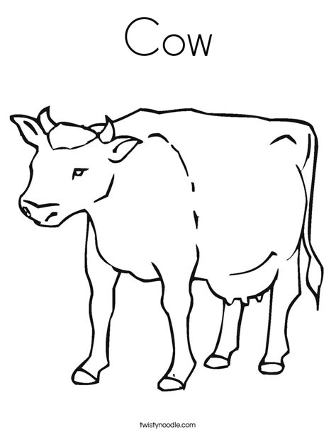 cow bell coloring page cow coloring page twisty noodle