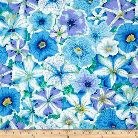 kaffe fassett home decor fabric kaffe fassett petunias delft home decor colors pansies