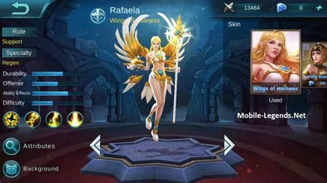 Kaos Ml Balmond rafaela features 2018 mobile legends