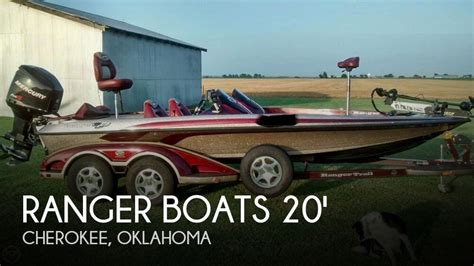 used ranger bass boats for sale in oklahoma for sale used 2006 ranger boats z 20 comanche in cherokee