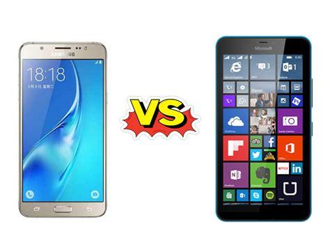 Hp Samsung Galaxy J5 Di perbandingan bagus mana hp samsung galaxy j5 vs nokia lumia 640 xl segi harga kamera dan
