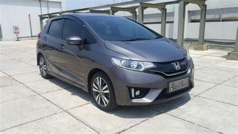 honda jazz rs 2015 1 5 at honda all new jazz 1 5 rs matic grey 2015 km 20 rban