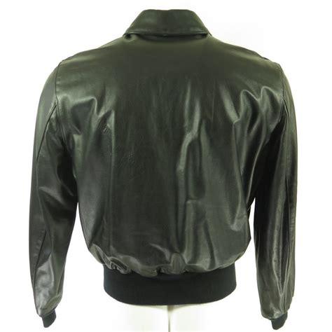 Soft Jackeet Air Blink Cincin Sam Gal V vintage 90s type a 2 flight jacket mens 42 deadstock san diego leather black the clothing vault