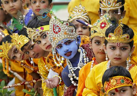 india celebrated janmashtami today seenews english