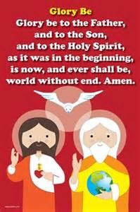 happy saints prayer happy saints glory be prayer