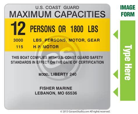 bass tracker boats lebanon mo maximum capacities plate decal 4x4 type f silver