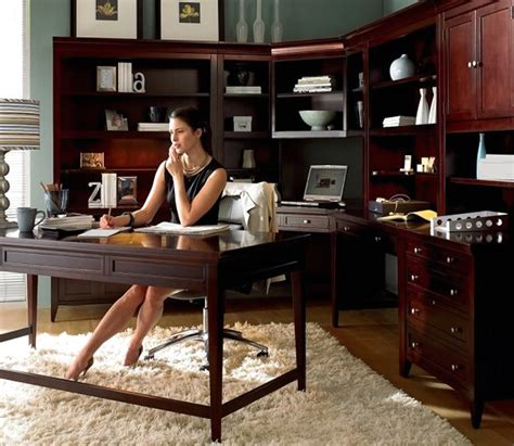 luxury home office furniture design of umber collection by
