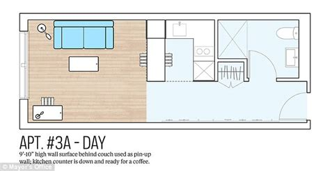 Low Cost Cabin Plans by New York Reveals Plans For More Micro Apartments Averaging