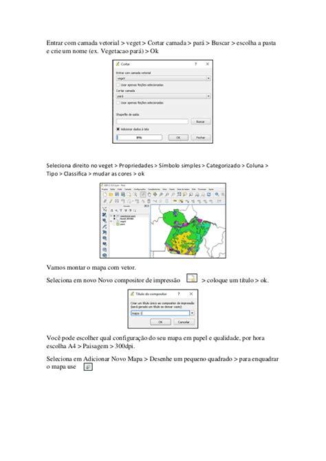 como criar layout no qgis tutorial de como fazer um mapa no software qgis