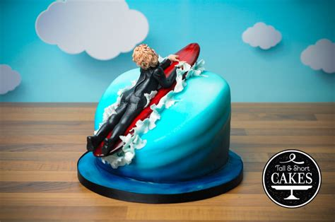 Surf Cake Decorations by Surfer Cake Cakecentral
