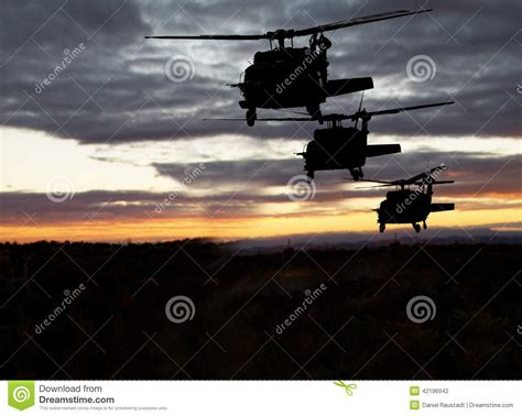 United States Air Search American Helicopters Flight Stock Photo Image 42196042