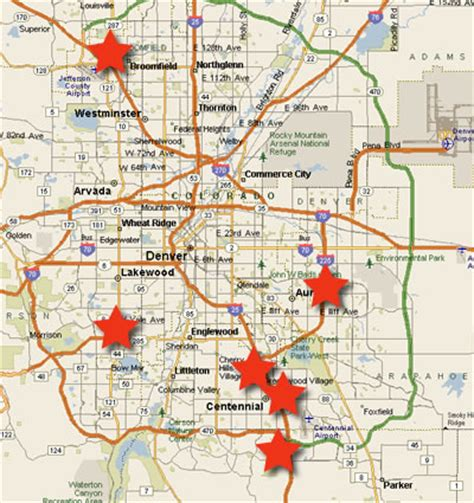 denver co map one of our laser hair removal denver colorado area affiliates today