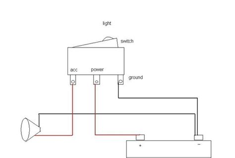 lighted rocker switch wiring diagram fuse box and wiring