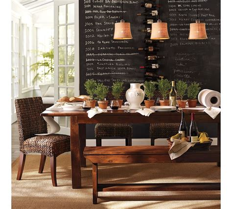 pottery barn inspiration chalkboard wall
