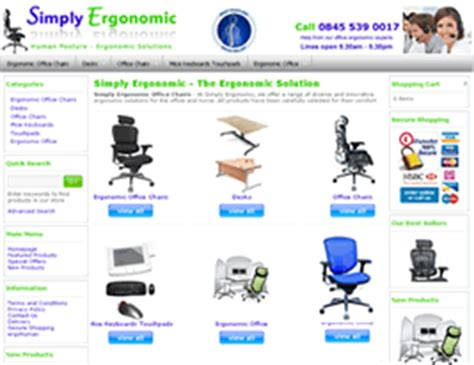 office furniture websites website design by new media