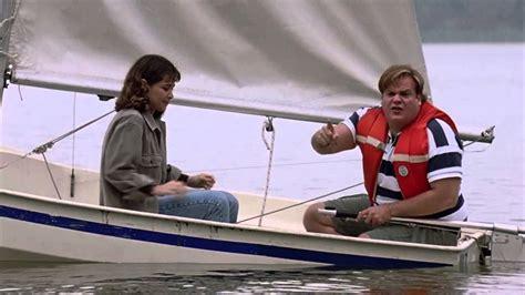 sailing boat movie tommy boy sailboat scene youtube