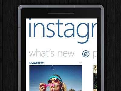 instagram design principles instagram panorama for windows phone by said wafiq dribbble