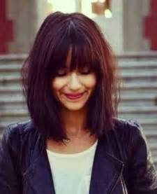 with hairstyles bob with bangs the best short hairstyles for women 2016