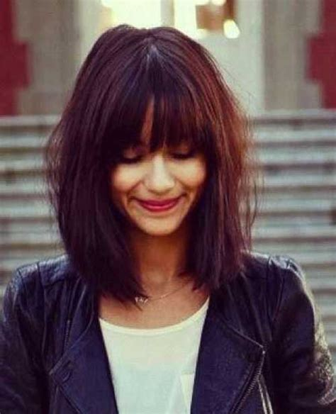 Bob Hairstyles With Bangs by Bobs With Bangs Fringe Hairstyle 2013