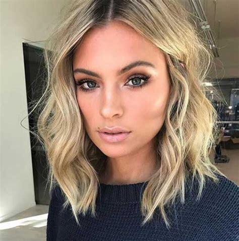 medium bobos 50 best short haircuts you will want to try in 2018 wavy